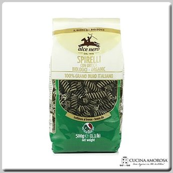 Alce Nero Alce Nero Organic Pasta Durum Wheat Nettle Spirelli 17.6 Oz (500g) Bag