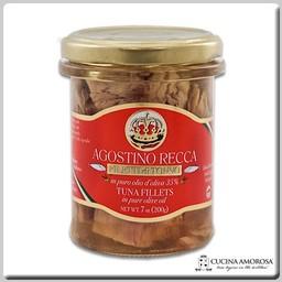 Agostino Recca Agostino Recca Tuna Fillets 7 Oz Jar