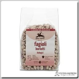 Alce Nero Alce Nero Organic Italian Dry Borlotti 14.1 Oz (400g) Bag
