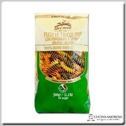 Alce Nero Alce Nero Organic Pasta Durum Wheat Tricolor Fusilli 17.6 Oz (500g) Bag