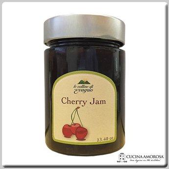 Le Colline di Evagrio Antenucci - Le Colline di Evagrio - Cherry Jam 13.4 Oz (380g) Jar