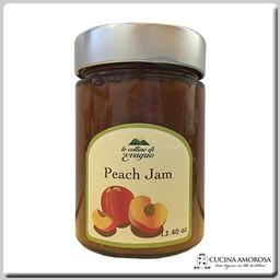 Le Colline di Evagrio Antenucci - Le Colline di Evagrio - Peach Jam 13.4 Oz (380g) Jar