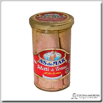 As Do Mar As Do Mar Tuna Filet in Olive Oil 8.8 Oz Jar