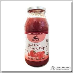 Alce Nero Alce Nero Organic Tomato Diced Pulp 17.6 Oz (500g) Jar