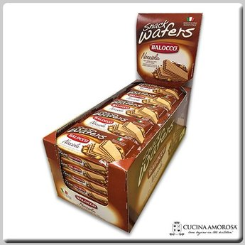 Balocco Balocco Wafer Snack Hazelnut 1.76 Oz (45g) (Display of 30)