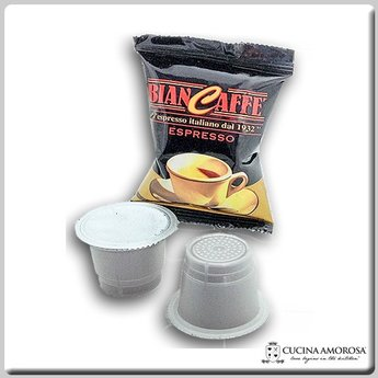 Biancaffe Biancaffe Compatible Nespresso Classica 10 Capsules