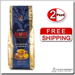 Biancaffe Biancaffe Beans Crema Blue 2.2 Lbs Bag (Pack of 2) (Free Shipping)