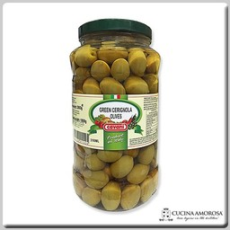 Cavani Cavani Green Olives in Brine Bella di Cerignola 6.6 Lbs (3kg)
