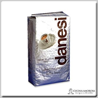 Danesi Caffe Danesi Caffe' Beans Espresso Italiano Doppio 2.2 Lbs Bag