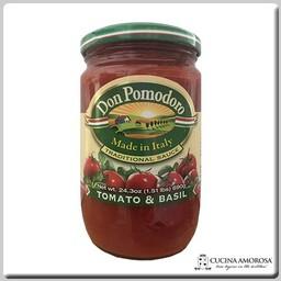 Don Pomodoro Don Pomodoro Tomato & Basil Sauce 24.3 Oz Jar