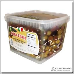 Frutto D'Italia Frutto D'Italia Mediterranean Olive Mix 5 Lbs (2.3kg) Can