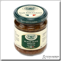 San Giuliano San Giuliano Black Olive Spread 6.35 Oz