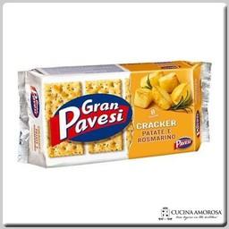 Pavesi Pavesi Gran Pavesi Crackers Potato & Rosemary 8.8 Oz (250g)