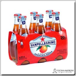 Sanpellegrino Sanpellegrino Aranciata Rossa 200 ml Glass Bottle (bulk of 6)