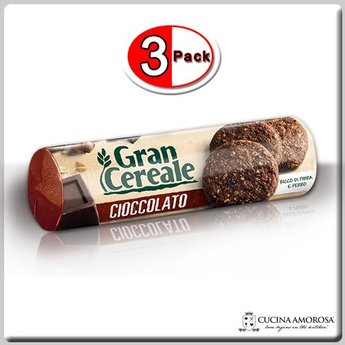 Mulino Bianco Mulino Bianco Grancereale Cacao 8.8 Oz (250g) (Pack of 3)