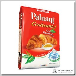 Paluani Paluani 6 Croissants with Custard Cream 8.8 Oz (250g)