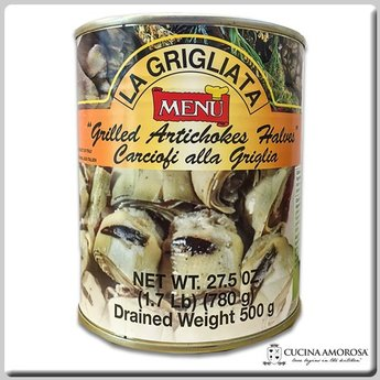 Menu - Grilled Artichokes - Net Weight 27 Oz (780g)