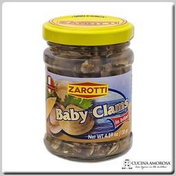 Zarotti Zarotti Baby Clams in Brine 4.59 Oz