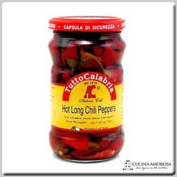 TuttoCalabria TuttoCalabria Hot Long Chili Peppers 10.2 oz