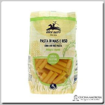 Alce Nero Alcen Nero Organic Gluten Free Corn & Rice Rigatoni 8.8 Oz (250g)