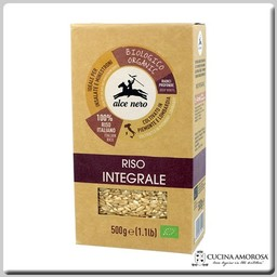 Alce Nero Alcen Nero Organic Wholegrain Rice 17.6 Oz (500g)