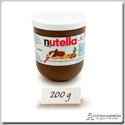 Ferrero Ferrero Nutella Made in Italy 7 Oz (200g) Glass Jar