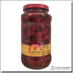 Tutto Calabria Tutto Calabria Hot Long Chili Peppers 2.8 kg