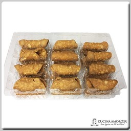 Cucina Amorosa Cucina Amorosa Small Cannoli Shells Tray 24 CT