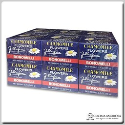 Bistefani Bonomelli Camomile 10 Filters 0.7 Oz (Pack of 12)