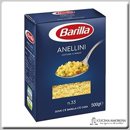 Barilla Barilla Anellini Made in Italy 16.7 Oz (500g)