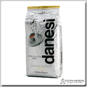 Danesi Caffe Danesi Caffe' Beans Espresso Italiano Gold 2.2 Lbs Bag (Pack of 2) (Add $12.05 Shipping at Checkout)