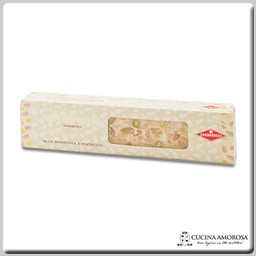 Condorelli Condorelli Sicilian Soft Nougat with Pistachio & Almond - No Coating (150g) 5.29 Oz Bar