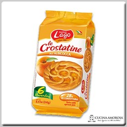 Lago Lago Crostatine 6 Tartlets with Apricot 8.4 Oz (240g)