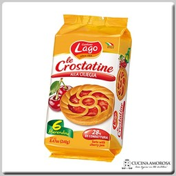 Lago Lago Crostatine 6 Tartlets with Cherry 8.4 Oz (240g)