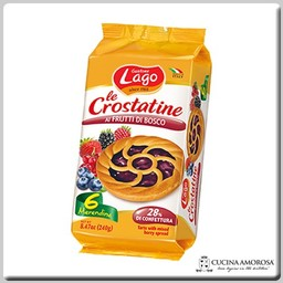 Lago Lago Crostatine 6 Tartlets with Wild Berries 8.4 Oz (240g)