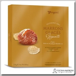 Vergani Marron Glaces Gift Box (230) 8.1 Oz