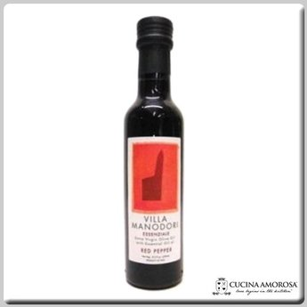 Villa Manodori Villa Manodori Essenziale Extra Virgin Olive Oil with Naturl Oil of Red Pepper 8.5 Oz