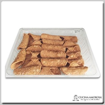 Cucina Amorosa Cucina Amorosa Small Cannoli Made in Sicily Shells 20 Count 8.8 Oz