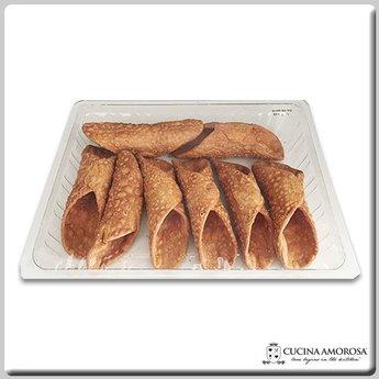 Cucina Amorosa Cucina Amorosa Large Cannoli Shells Made in Sicily 8 Count 6.5 Oz