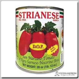 Strianese Strianese Italian San Marzano DOP Peeled Tomatoes w/Basil 28 Oz Tin