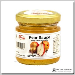 Lazzaris Lazzaris Pear Sauce Spicy Sweet 1.74 Oz (50g)