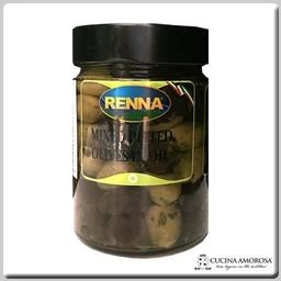 Renna Renna Mixed Pitted Olives 10.5 Oz Jar