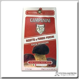 Campanini Campanini Risotto with Mushroom 8.8 Oz