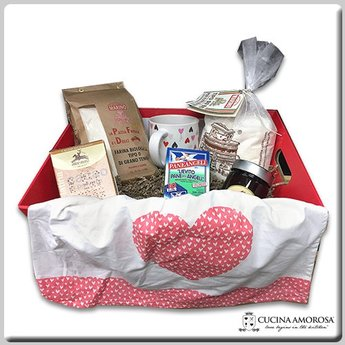 "Cucina Amorosa Gift Box ""The Baker's Basket"""