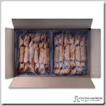 Cucina Amorosa Cucina Amorosa Small Cannoli Shells Made in Sicily (Case of 120 Count)