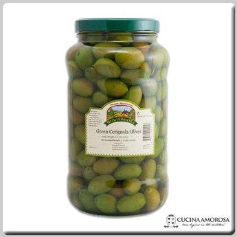 Mediterranea Mediterranea Cerignola Green Olives 6.6 Lbs Jar