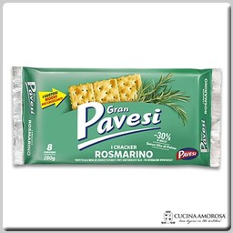 Pavesi Pavesi Gran Pavesi Crackers with Rosemary 8.8 Oz (250g)