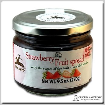 Alce Nero Alce Nero Organic Jam Strawberry 9.52 Oz (270g) Jar