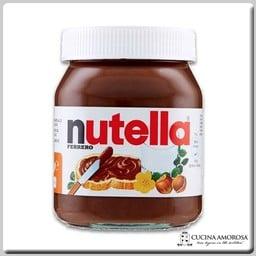 Ferrero Ferrero Nutella Made in Italy 15.8 Oz (450g) Glass Jar