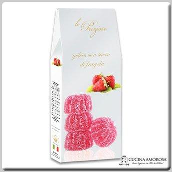 Silagum Le Preziose Gelèes with Strawberry Flavor 7 Oz (200g) Gift Box